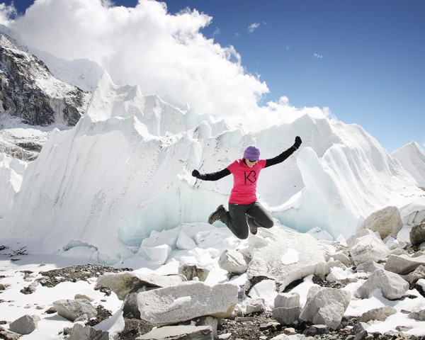 Everest Base Camp w pobliżu Icefall