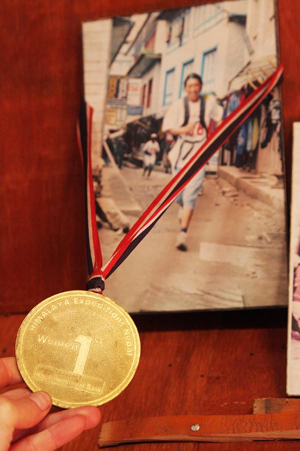 Marathon medal