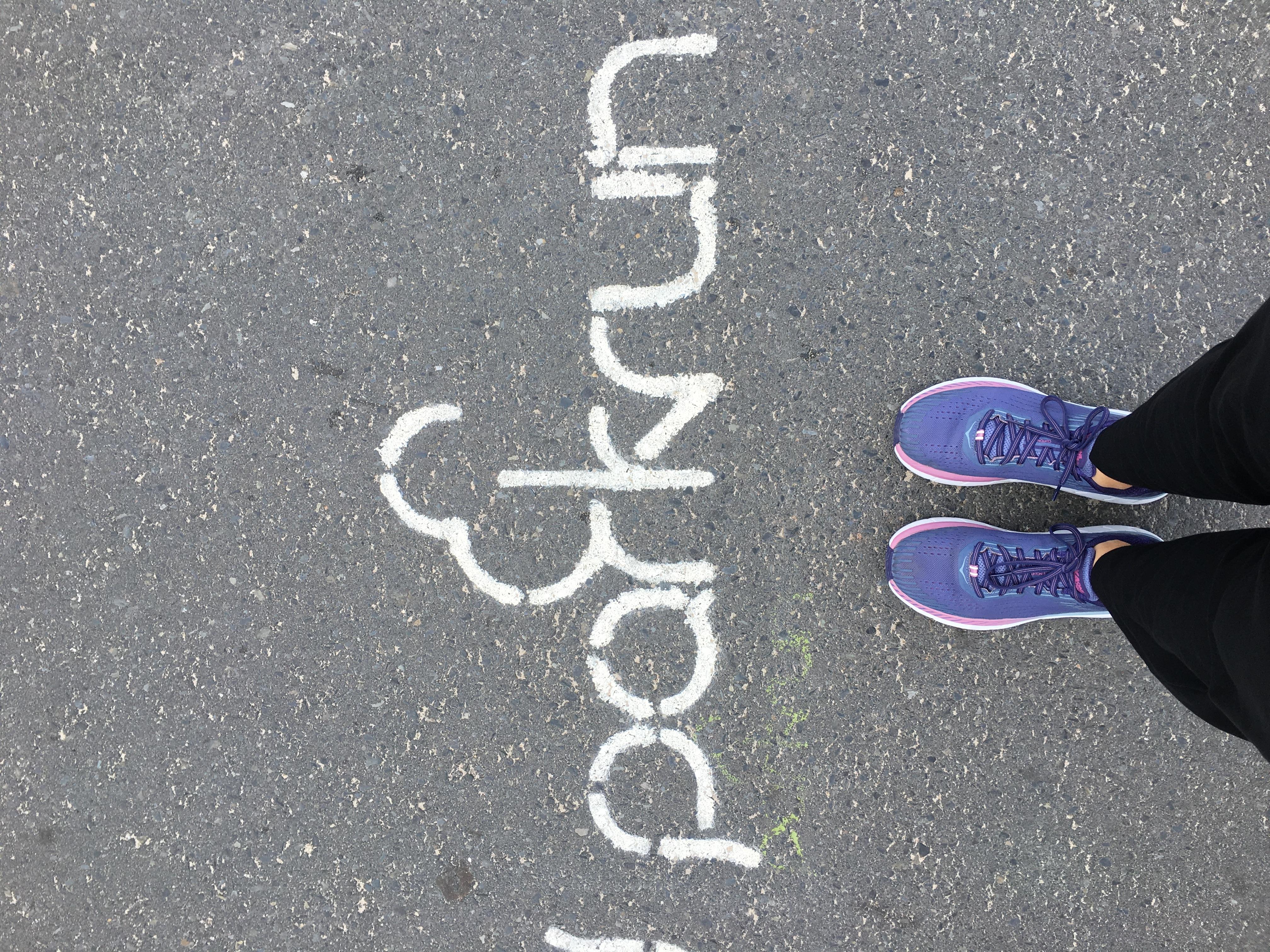 1b2ea245 ... siedem kilometrów, ale dodałam do nich dziesięć podbiegów. Biegało się  je wyjątkowo dobrze. Nie wiem, jednak, czy to zasługa butów, czy dobrego  dnia.